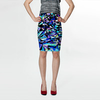 Geo Glass No.1 by House of Jennifer (Fitted Skirt)