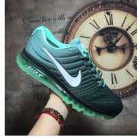 """NIKE"" The new lightweight mesh running shoes sneakers Green"