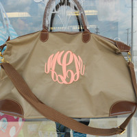 Champ Weekender  Bag Monogram Font Shown MASTER by MONOGRAMSINC