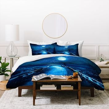Viviana Gonzalez Magical Moon Duvet Cover