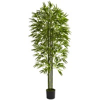 SheilaShrubs.com: 6' Bamboo Tree UV Resistant (Indoor/Outdoor) 5386 by Nearly Natural : Artificial Flowers & Plants