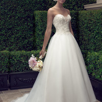 Casablanca Bridal 2191 Ball Gown Wedding Dress
