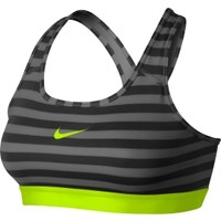 Nike Women's Pro Core Classic Striped Mezzo Sports Bra | DICK'S Sporting Goods