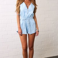 HelloMolly   Gold Panning Playsuit