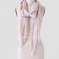 The Open Savanna Printed Scarf
