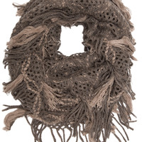 Mercy Infinity Scarf - Taupe