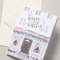 Salt Stains Happy Birthday Cafe Card in Pink Size: One Size Books