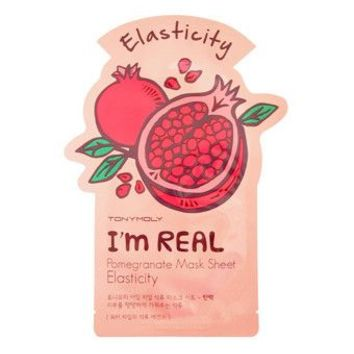 Tony Moly: I'm Real Pomegranate Mask Sheet - Elasticity