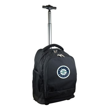 Seattle Mariners Wheeled Premium Backpack