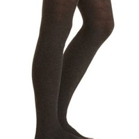 Diamond Weave Tights by Charlotte Russe