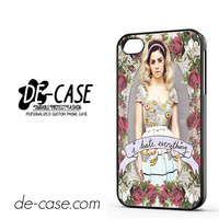 Marina And The Diamonds I Hate Everything For Iphone 4 Iphone 4S Case Phone Case Gift Present YO