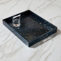 Oil Spotted Lacquer Tray