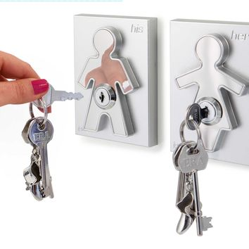 His and Hers Key Holders:Amazon:Home & Kitchen