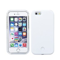 WHITE LIGHT UP CASE FOR IPHONE 5 5S
