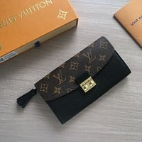 LV Louis Vuitton MONOGRAM CANVAS Croisette WALLET