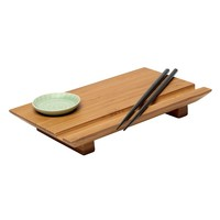 Joyce Chen 3-pc. Sushi Board Set (Brown)