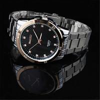 Handsome Mens Classic Casual Sports Watches Steel Strap Watch Best Christmas Lover Gift