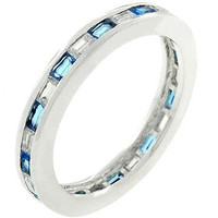 Sapphire Eternity Ring, size : 09