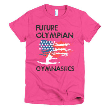 Future Olympian - American Gymnast - Female Adult and Teens Shirts