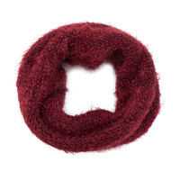 Harlet Tube Scarf in Burgundy