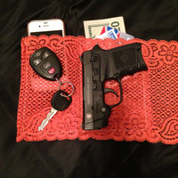 Lethal Lace Universal Concealed Carry Gun Holster for Women