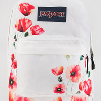 Jansport Superbreak Backpack Red Combo One Size For Women 26903834901