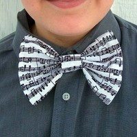 Music Note Bow Tie Tux Tuxedo Band Musician Orchestra