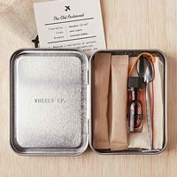 W&P and PUNCH The Carry On Cocktail Kit- Silver One