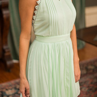 My One Sweet Love Dress, Mint