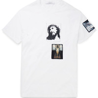 Givenchy - Columbian-Fit Patch-Embellished Cotton T-Shirt