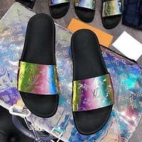 Louis Vuitton LV Brilliant series slippers shoes