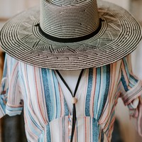 Panama Straw Hat - Meraki Moon Boutique