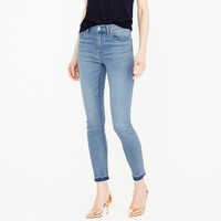 Lookout high-rise crop jean in Boater wash :   J.Crew