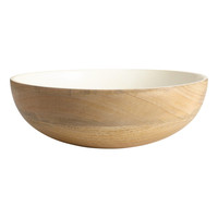 H&M - Wooden Bowl - Natural