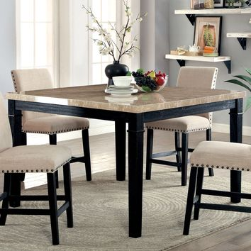 Emelie Contemporary Counter Height Table