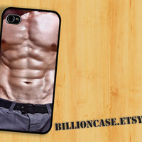 iPhone 4 Case iPhone 4s Case iPhone 5 Case idea case Galaxy Case - abs muscle six packs