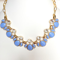 Periwinkle Paradise Stone Necklace Set