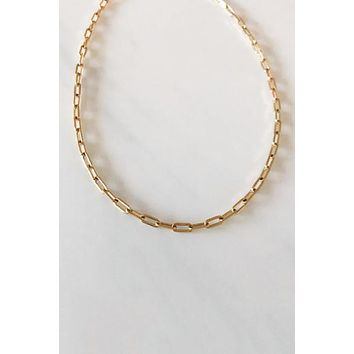 Nikki E Large Link Chain Necklace