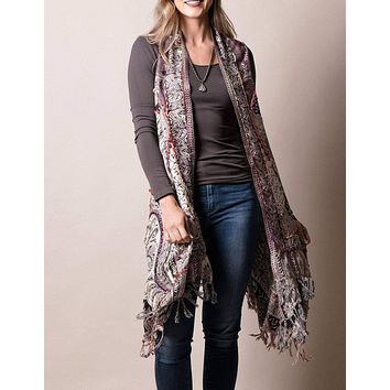 3-in-1 Jaipur Wrap - Heather - As-Is-Clearance