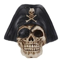 Skull Skulls Halloween Fall MRZOOT Resin Craft Statues For Decoration  Pirate  Crearive Bar Decoration Halloween Decoration Calavera