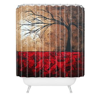 Madart Inc. Lost In The Forest Shower Curtain