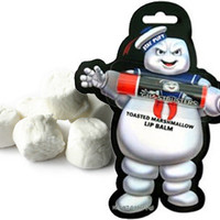 Product Reviews and Ratings - Unique Gifts - GHOSTBUSTERS STAYPUFT MARSHMALLOW MAN LIP BALM from Perpetual Kid