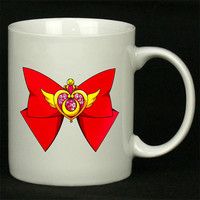 Deluxe Sailor Moon Crisis Moon Compact For Ceramic Mugs Coffee *