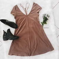 Gia Y Detail Dress (Mocah)