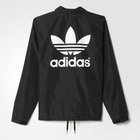 adidas Coach Jacket - Black | adidas US