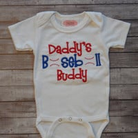 Baby Boy Clothes Baseball Outfit Daddy's Baseball Buddy Newborn Boy Take Home Outfit