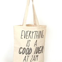 2am Tote Bag
