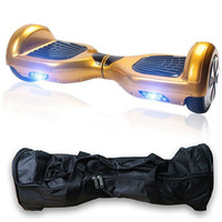 New Regular Two Wheels Mini Smart Self Balancing Electric Unicycle Gold Scooter