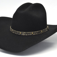 Resistol Jason Aldean Tattoos Wool Western Hat