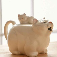 Big Cat Tea Pot